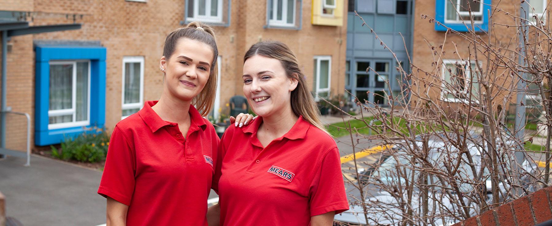 Proud to Care - 2 Girls 1 2019 - CB Bristol Design 2019